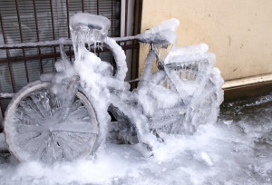 Frozen Ice Bike Scotland