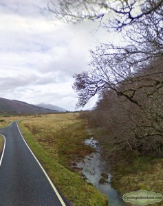 Route 78 Fort William Inverness Loch Ness